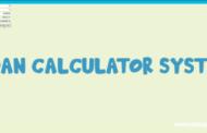 Application de calcul de prêt en Python avec code source
