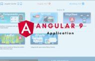 Application Angular 9 avec code source