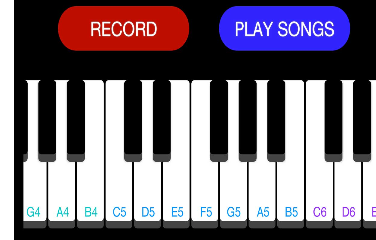 Piano Android (clavier) dans Android avec code source