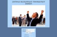 Système de gestion du recrutement sur les campus utilisant PHP avec le code source
