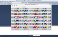Photoshop Color Swatch Writer C # .NET Code source