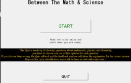 Quiz de sciences mathématiques en Python avec code source