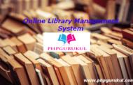 Système de gestion de bibliothèque en ligne en php Téléchargement gratuit avec code source
