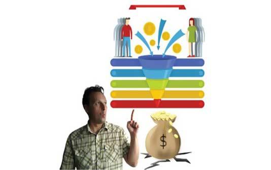 Cours de marketing numérique - L'entonnoir des ventes en marketing