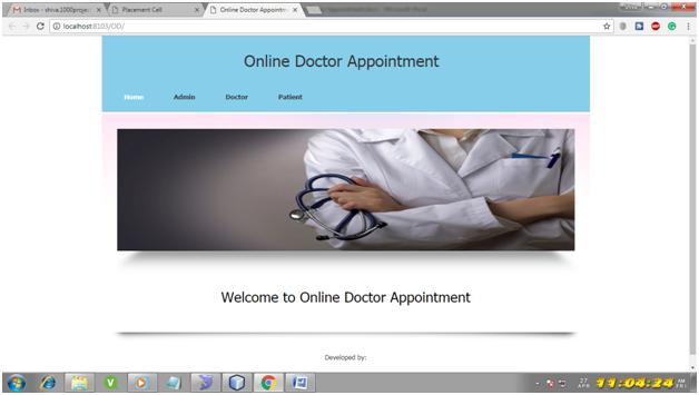 Projet Java du système de rendez-vous de médecin en ligne - 1000 projets