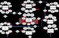 Diagramme ER du système d'enregistrement du temps quotidien