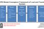 Cadre conceptuel du modèle IPO du système des objets perdus et trouvés