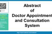 Résumé du système de rendez-vous et de consultation chez le médecin