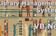 Système de gestion de bibliothèque dans VB.Net (projet informatique)