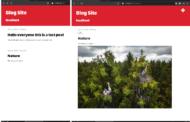 Application de blog utilisant Django Framework