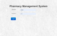 Système de gestion de pharmacie en PHP avec code source