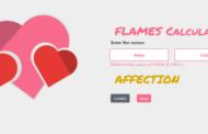 Calculatrice de flammes en JavaScript avec code source