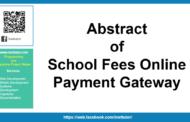 Résumé de la passerelle de paiement en ligne des frais scolaires