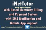 Système de facturation et de paiement de l'électricité avec notification par SMS et documentation d'assistance pour les applications mobiles