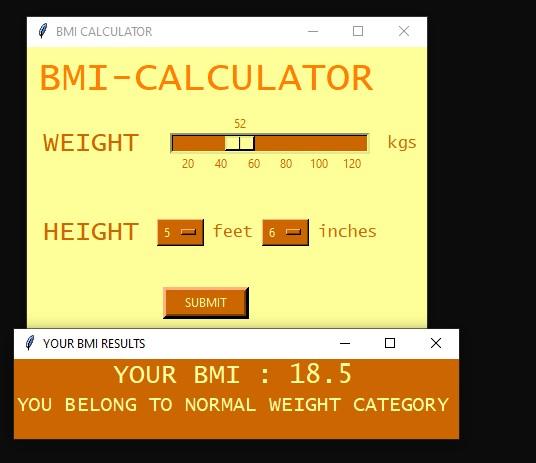 Calculateur d'IMC simple en Python avec code source