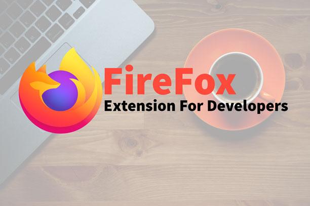 Extensions Firefox pour les développeurs