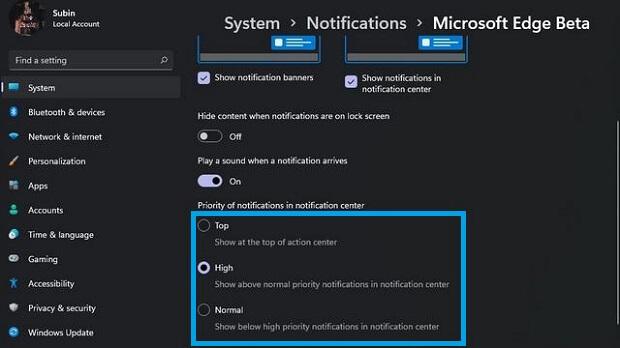 Désactiver les notifications pendant un certain temps
