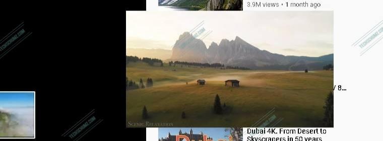 YouTube PiP sur Windows 11