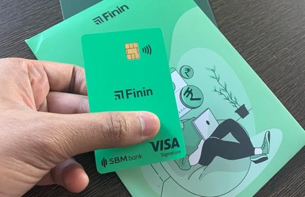 Carte de débit Finin Neobank