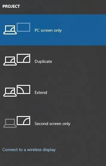 Connectez-vous à un écran sans fil