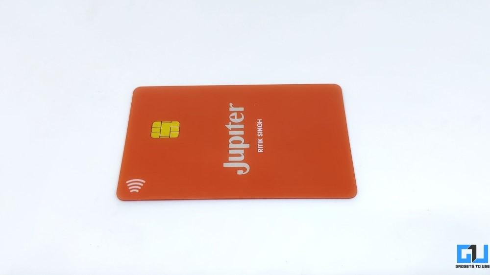 Carte de débit Jupiter Money Neobank