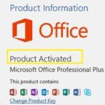 Clé de produit Microsoft Office 2019 gratuite 2021