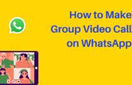 Comment passer un appel vidéo de groupe sur WhatsApp