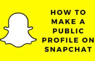 Comment créer un profil public sur Snapchat